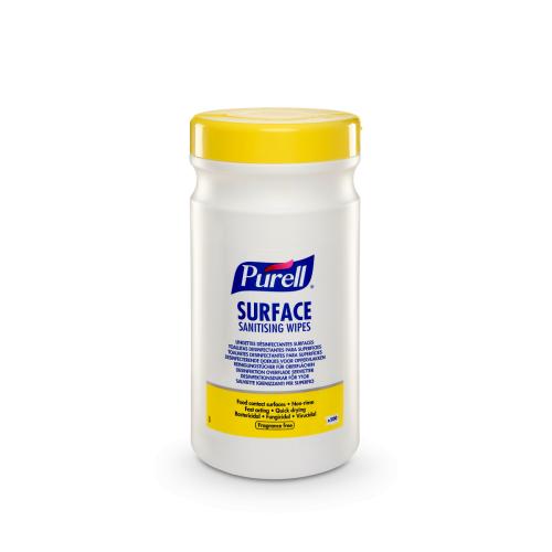 Chusteczeki dezynfekujące do powierzchni PURELL® Surface Sanitising Wipes 200 szt