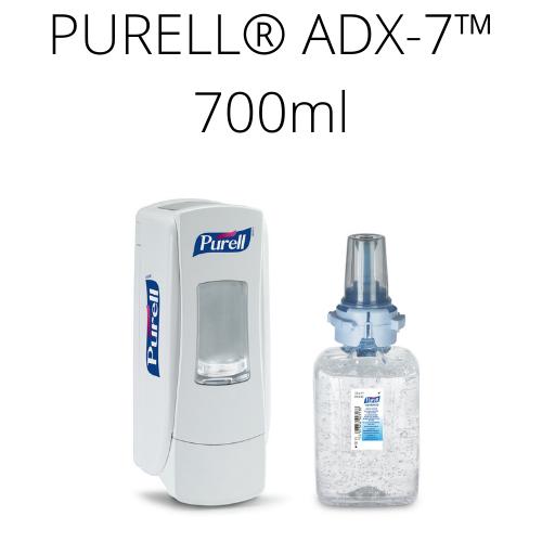 Zestaw startowy PURELL® ADX™ 700 ml (biały dozownik + wkład)