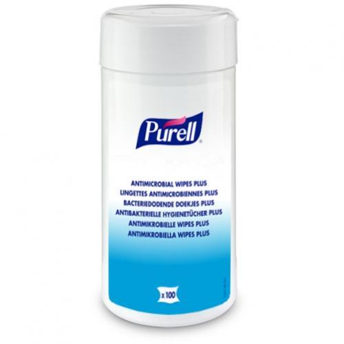 PURELL Antimicrobial Hand Wipes 100 szt.