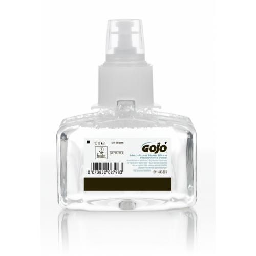 Delikatne, bezzapachowe mydło w piance GOJO® Mild LTX™ 700 ml