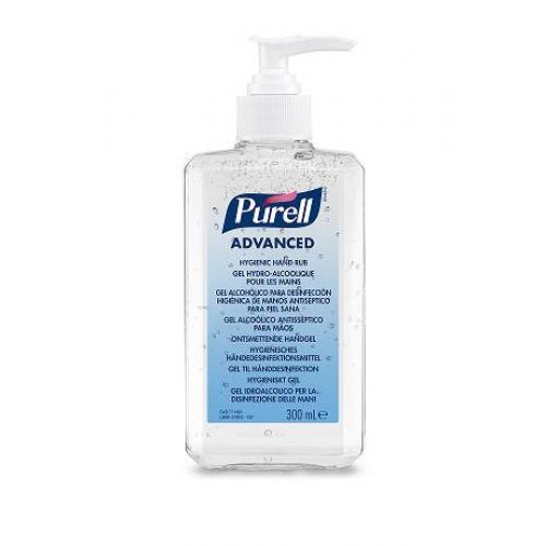 Żel do dezynfekcji rąk PURELL® Advanced w butelkach z pompką 300 ml