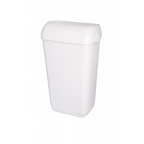 Kosz na śmieci 23-litrowy, kolor: biały