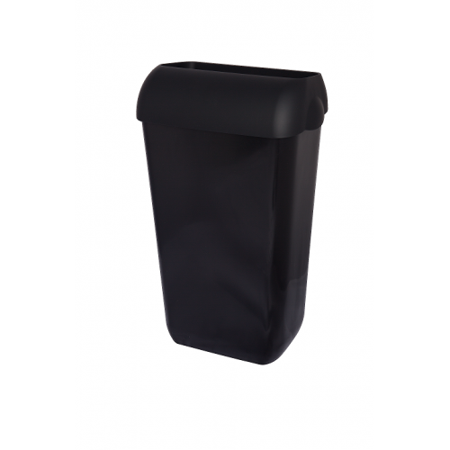 Kosz na śmieci 23-litrowy, kolor: czarny
