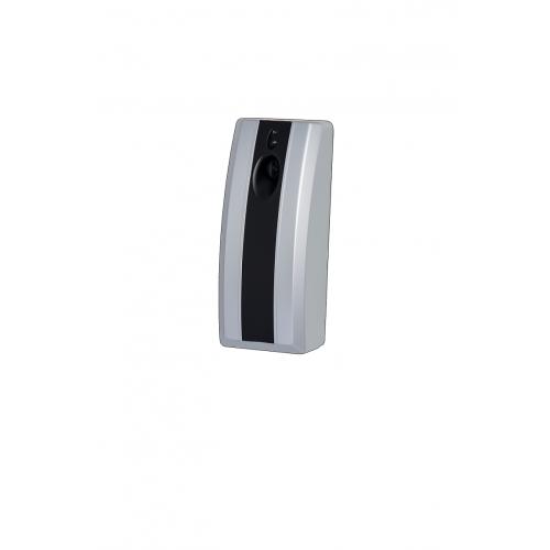 Elektroniczny odświeżacz powietrza, kolor: srebrno-czarny
